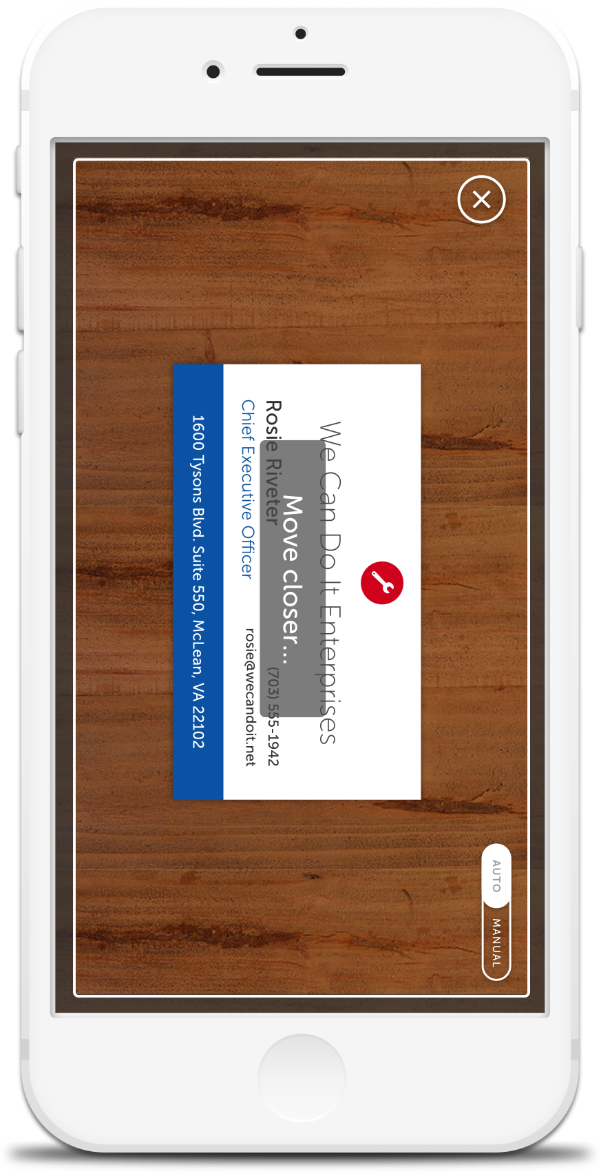 Getting Started – Business card reader | Business card scan API & App