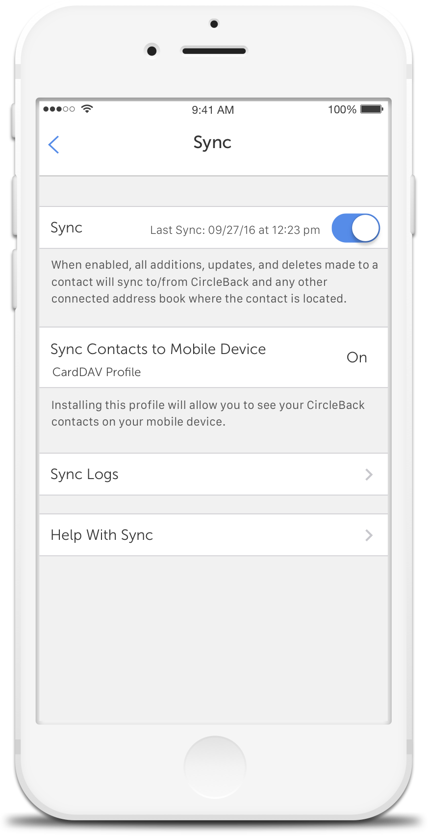 CircleBack - Address Book & Contact Syncing