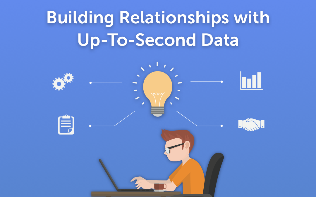 Building Relationships With Up-To-Second Data – Just When You Need It