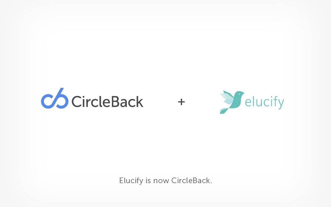 CircleBack Acquires Elucify
