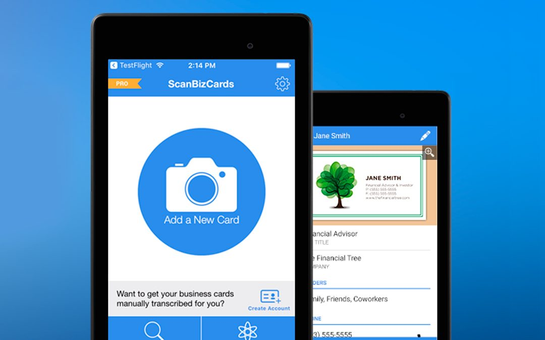 Need a Powerful Business Card Reader? Try ScanBizCards!   CircleBack