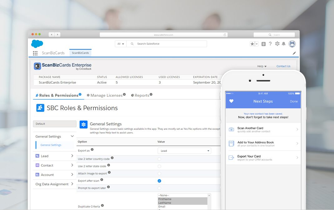 Introducing ScanBizCards New Salesforce Managed Package